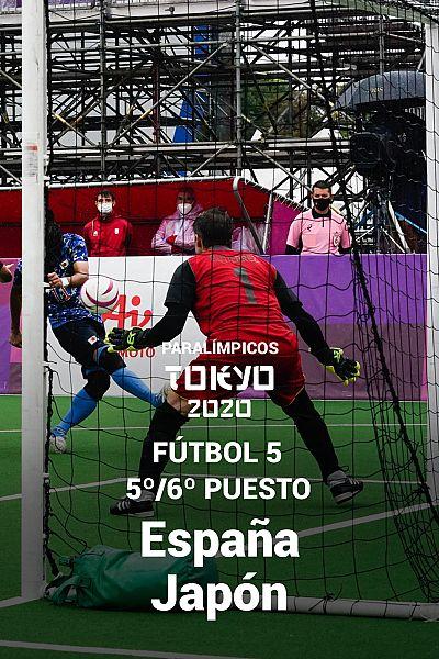Fútbol 5 masculino. 5º puesto: España - Japón