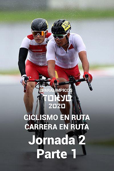 Ciclismo en ruta: Carrera en ruta. Jornada 2. Parte 1