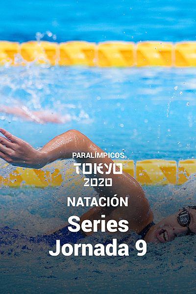 Natación: Series. Jornada 9