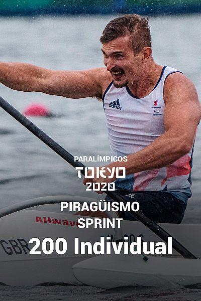 Piragüismo Sprint: 200 metros individual