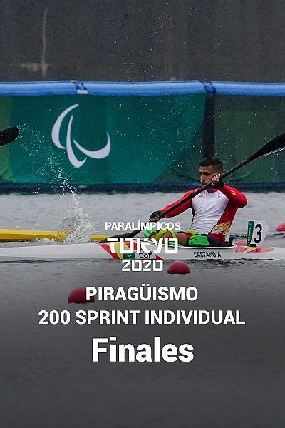 Piragüismo: 200 sprint individual. Semifinales y finales