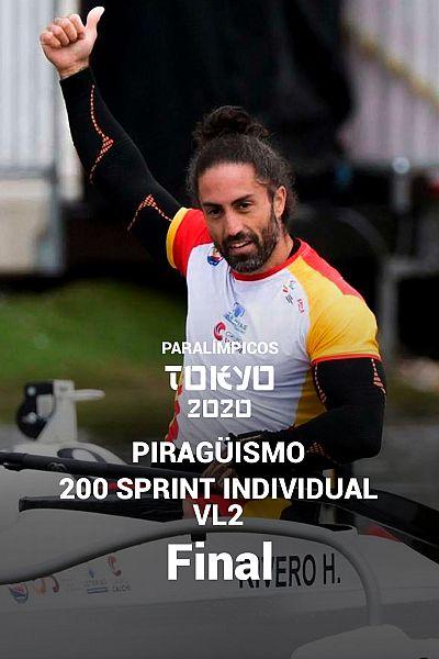 Piragüismo: Final 200 metros sprint individual VL2