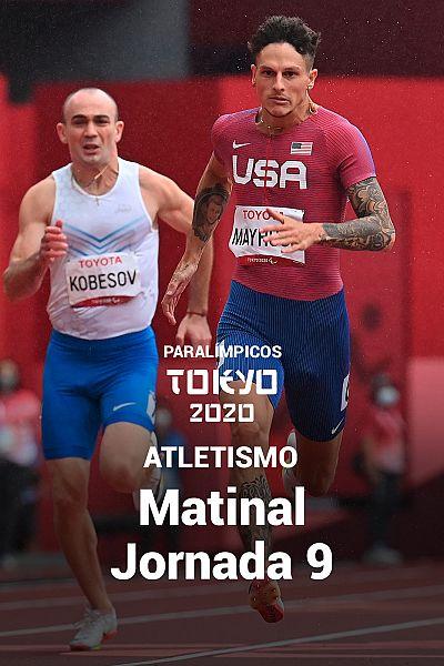 Atletismo: Sesión matinal. Jornada 9