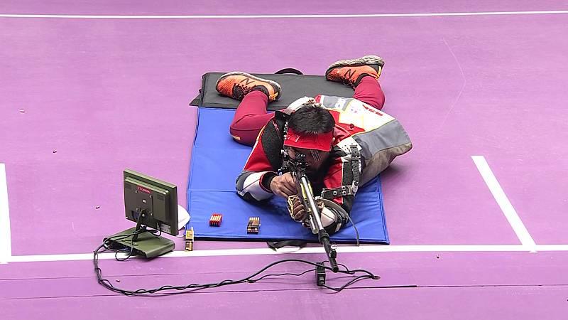 Tiro paralímpico: Carabina tumbada 50 m - Juan Antonio Saavedra - ver ahora