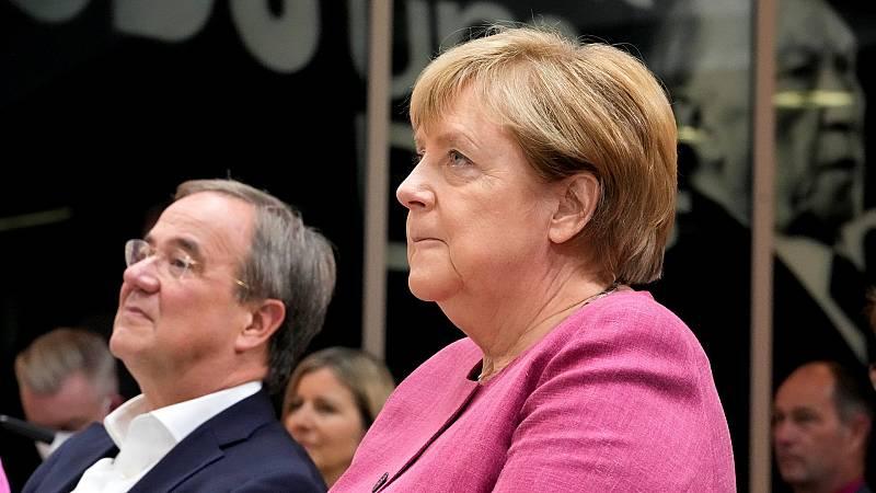 Las últimas encuestas dejan al partido de Merkel en la oposición - Ver ahora