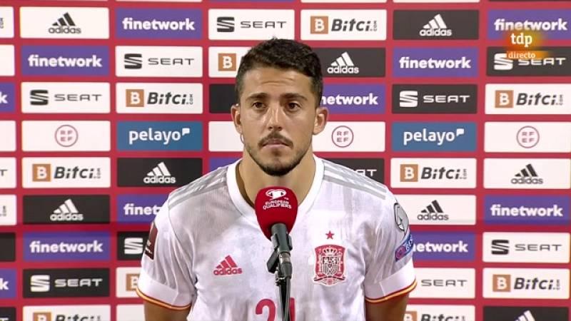"""Pablo Fornals, """"supercontento"""" tras su primer gol con la selección -- Ver ahora"""
