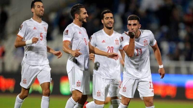 La selección española se acerca al Mundial de Catar 2022