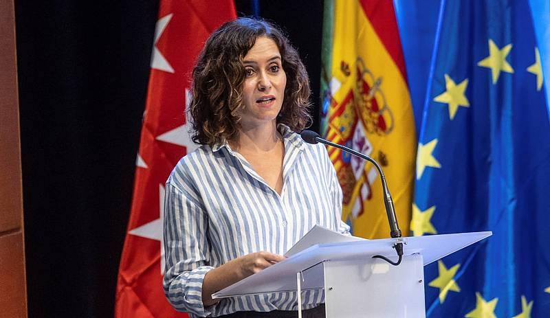 Ayuso asegura que cuenta con los apoyos para convertirse en la líder del PP de Madrid