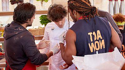 Competición de músculos en las cocinas