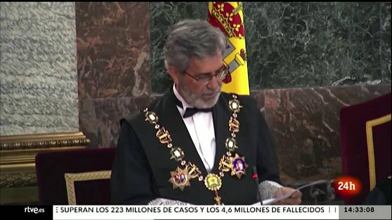 Parlamento - El foco parlamentario - Apertura del año judicial y CGPJ - 12/09/2021