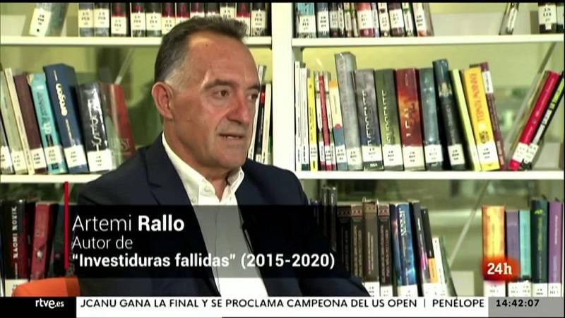 Parlamento - La entrevista - Artemi Rallo, senador del PSOE - 12/09/2021