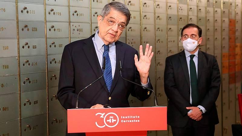 Sergio Ramírez recibe el apoyo del Gobierno español - Ver ahora