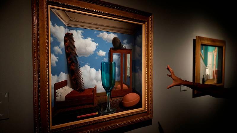 """Las imágenes """"seductoras y peligrosas"""" de Magritte conquistan el Museo Nacional Thyssen-Bornemisza"""