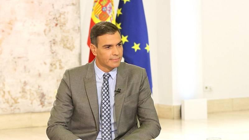 Sánchez anuncia que va a ir a la mesa de diálogo con Cataluña y que se celebrará este miércoles - Ver ahora