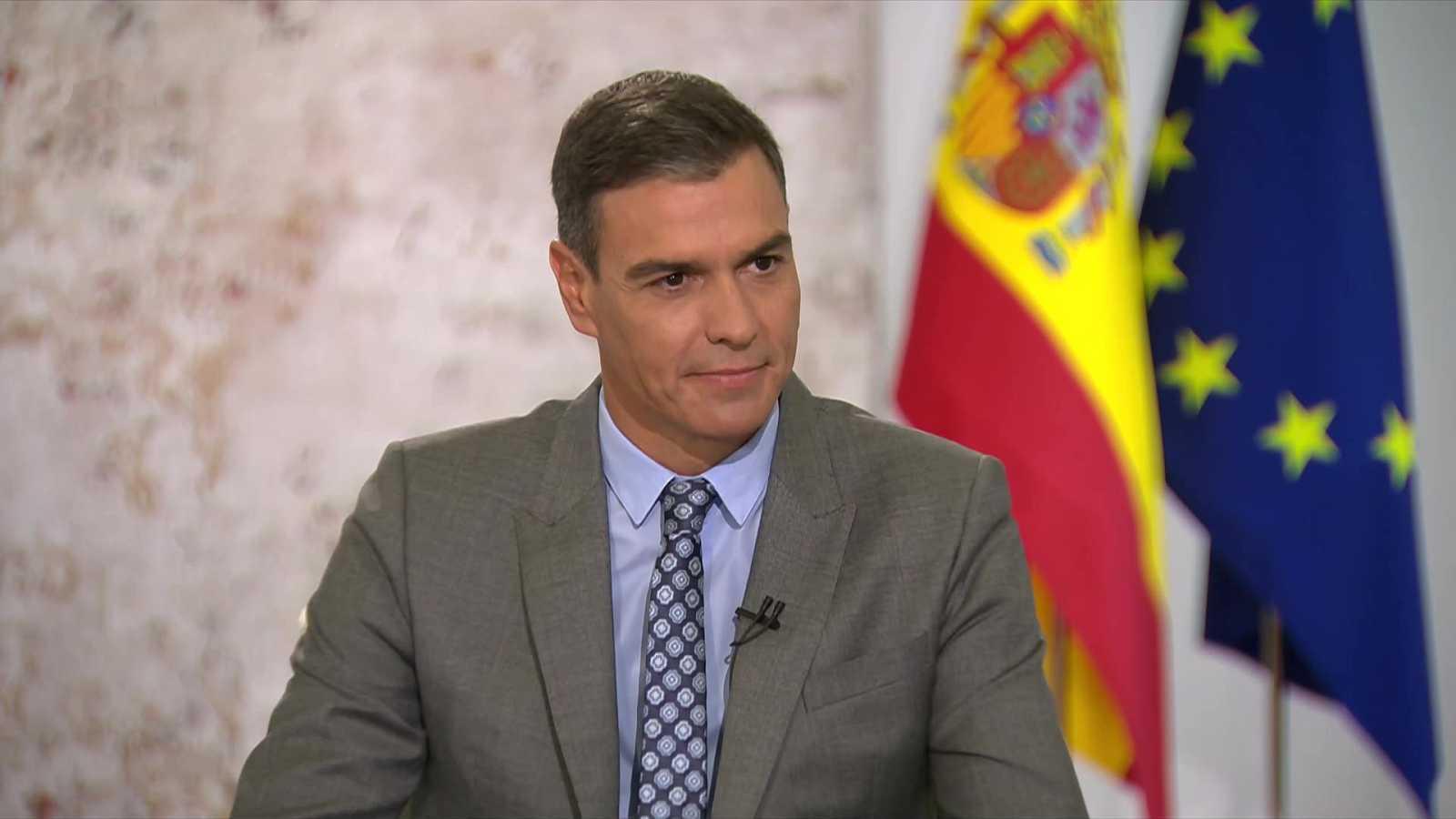 Telediario - Entrevista a Pedro Sánchez  - 13/09/21 - ver ahora