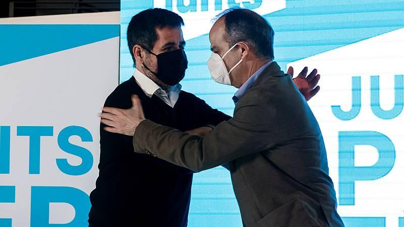 Junts propone incluir en la delegación catalana de la mesa de diálogo a los indultados Jordi Sánchez y Turull