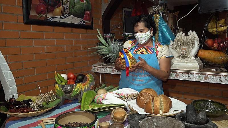 El encuentro de tradiciones entre las guisanderas asturianas y las cocineras indígenas de Oaxaca