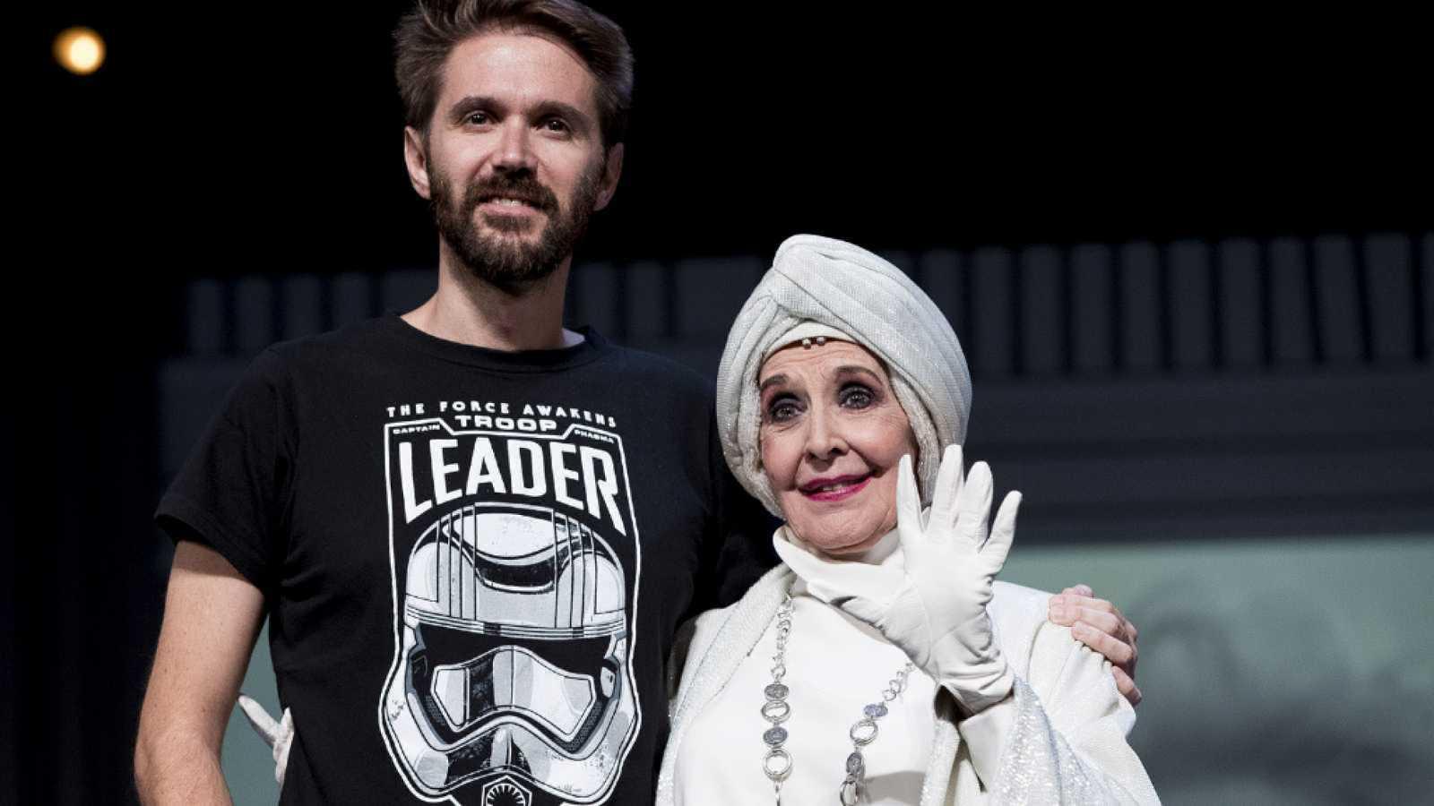Lazos de sangre - Concha Velasco habla de su relación con Fernando Arribas
