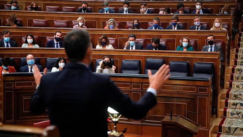 Duro enfrentamiento entre Sánchez y Casado por el precio de la luz, la mesa de Cataluña y el CGPJ