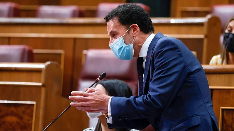 """Bal ve una """"humillación"""" sentarse en la mesa de Cataluña y Bolaños responde: """"Lo valiente es dialogar"""""""