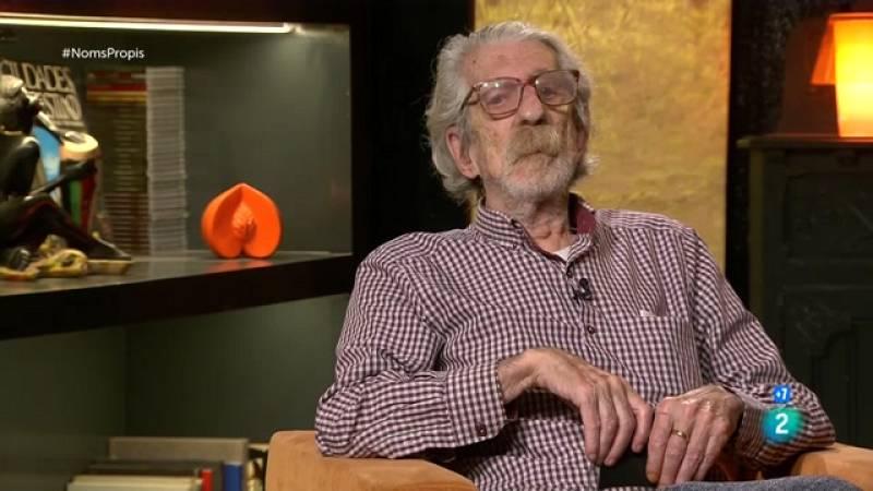 Darrera entrevista que va concedir el compositor i pianista Francesc Burrull abans que morís al mes d'agost als 86 anys.