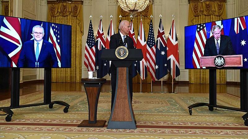 EE.UU, Australia y Reino Unido crean el AUKUS, un histórico pacto de defensa frente a China - Ver ahora