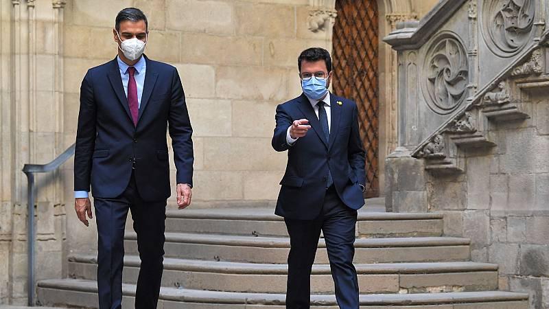 Aragonès trata de acercar a Junts a la mesa de diálogo mientras el PP acusa al Gobierno de opacidad