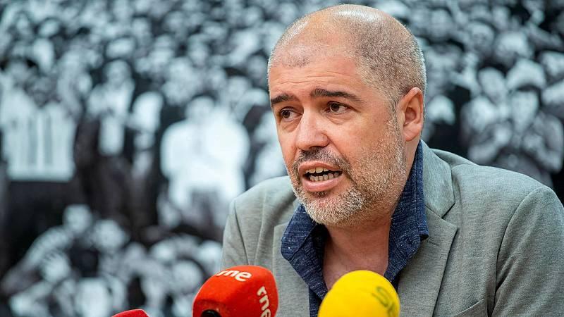 """Unai Sordo: (CCOO): """"No me parece de recibo que la patronal se haya negado a negociar"""""""