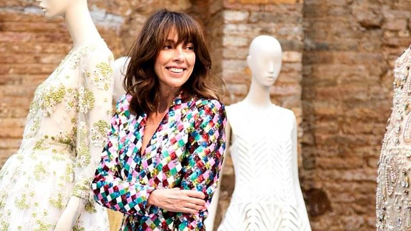 Teresa Helbig celebra 25 años de carrera en la semana de la moda de Madrid