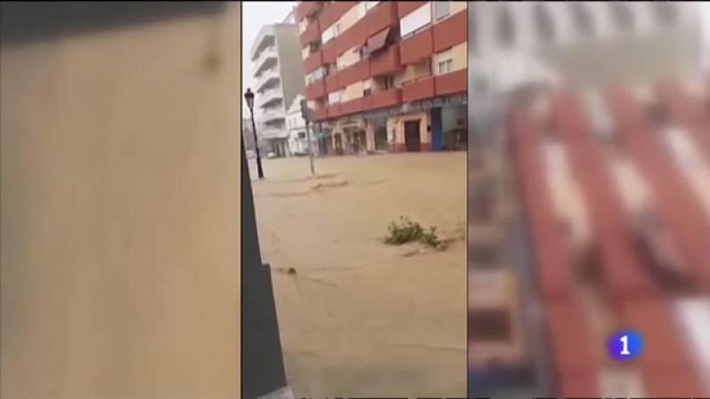 Fuerte episodio de lluvias en Valencia y Castellón