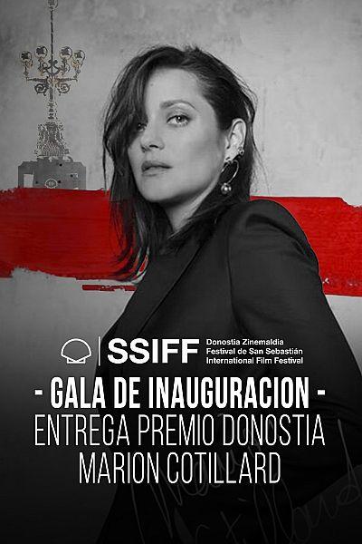 Gala de inauguración y entrega del Premio Donostia