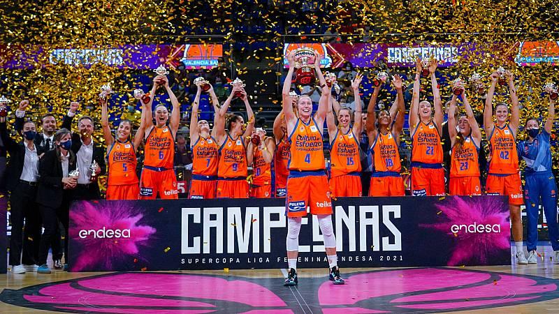 Valencia Basket levanta la Supercopa femenina, su primer título nacional -- Ver ahora