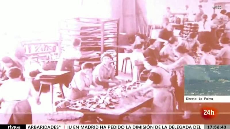 Una exposición recuerda a las conserveras asturianas, pioneras del trabajo fabril