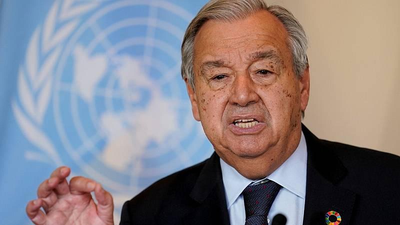 """Antonio Guterres, secretario general de la ONU: """"El mundo está en alerta roja"""" - Ver ahora"""