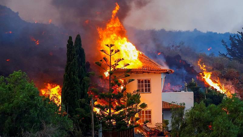 ¿Quién paga los daños causados por la erupción volcánica?