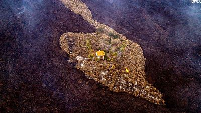 La historia detrás de la 'casa milagro' de La Palma