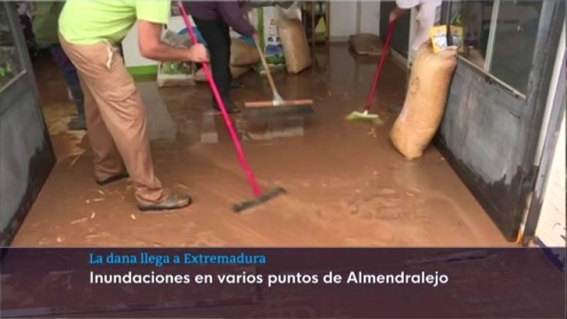 Inundaciones en Tierra de Barros - 23/09/2021