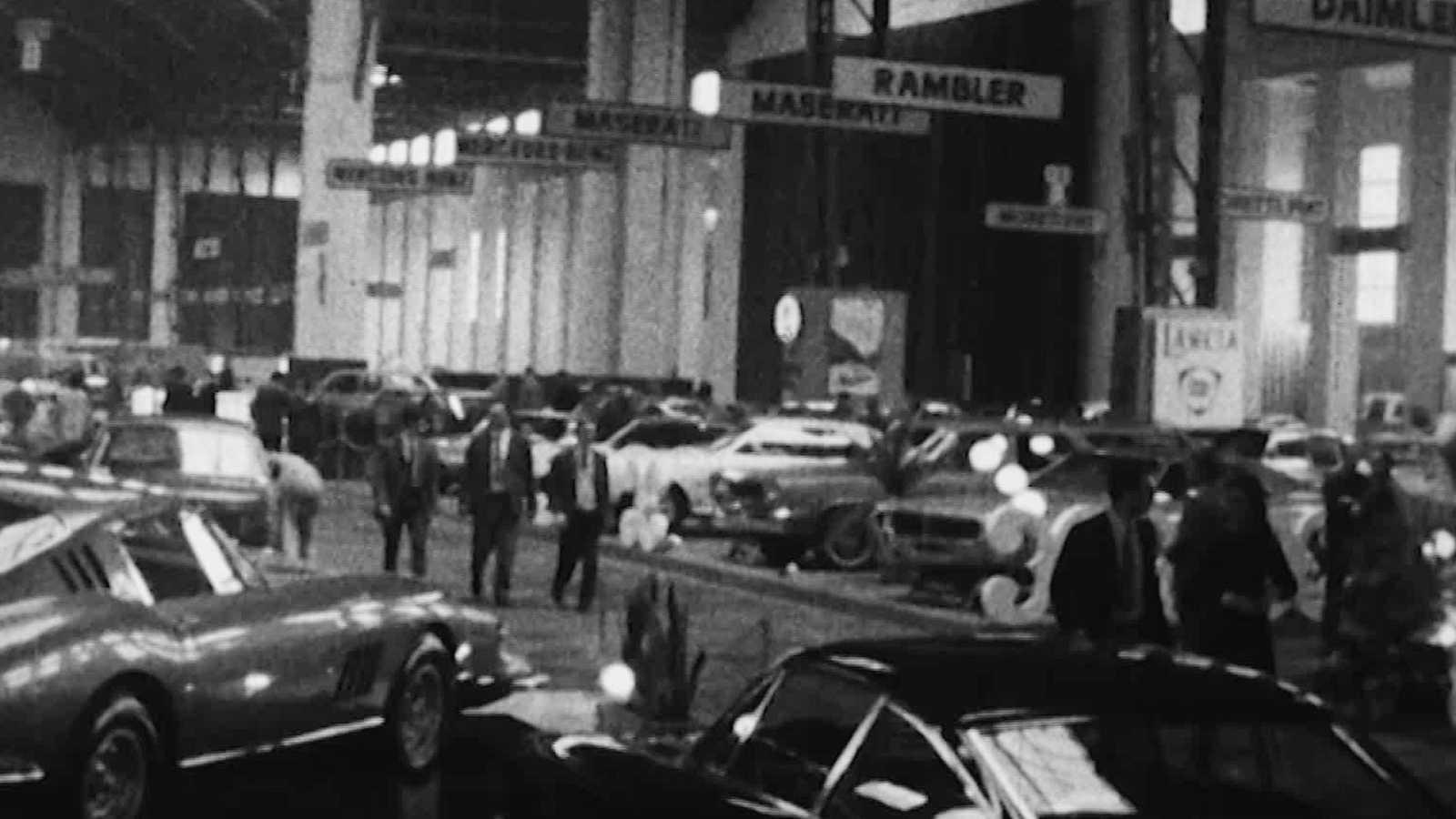 Arxiu TVE Catalunya - Saló Internacional de l'Automòbil - 1968
