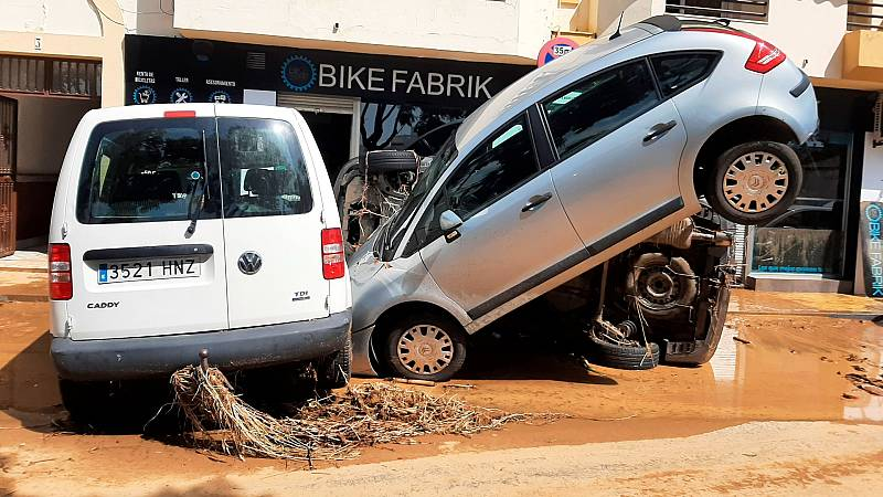 Una nueva DANA deja importantes destrozos en Lepe, Huelva