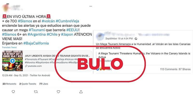 El bulo viral sobre el 'megatsunami' por la erupción en La Palma - Ver ahora