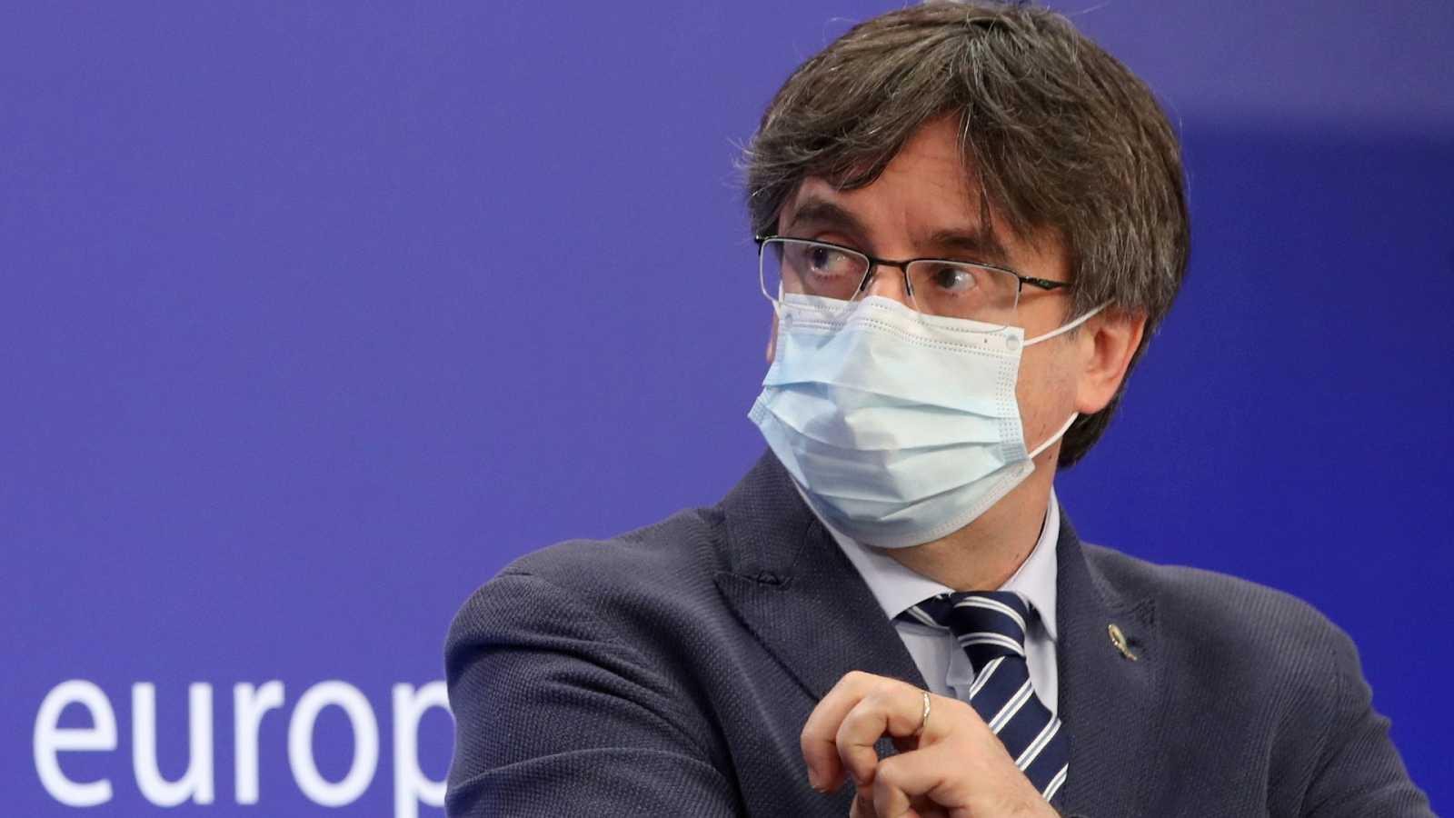Carles Puigdemont, detenido en Cerdeña por la orden de busca y captura del Supremo