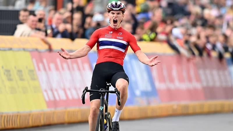 El noruego Hagenes, campeón del mundo junior de ciclismo