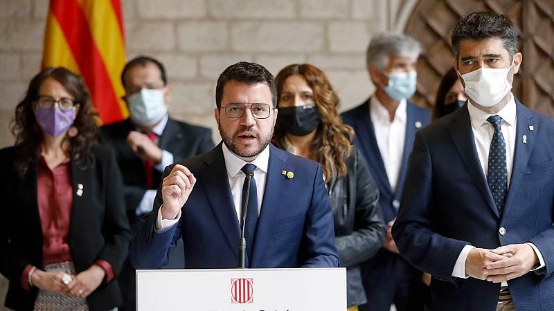 Indignación en el Govern por la detención de Puigdemont