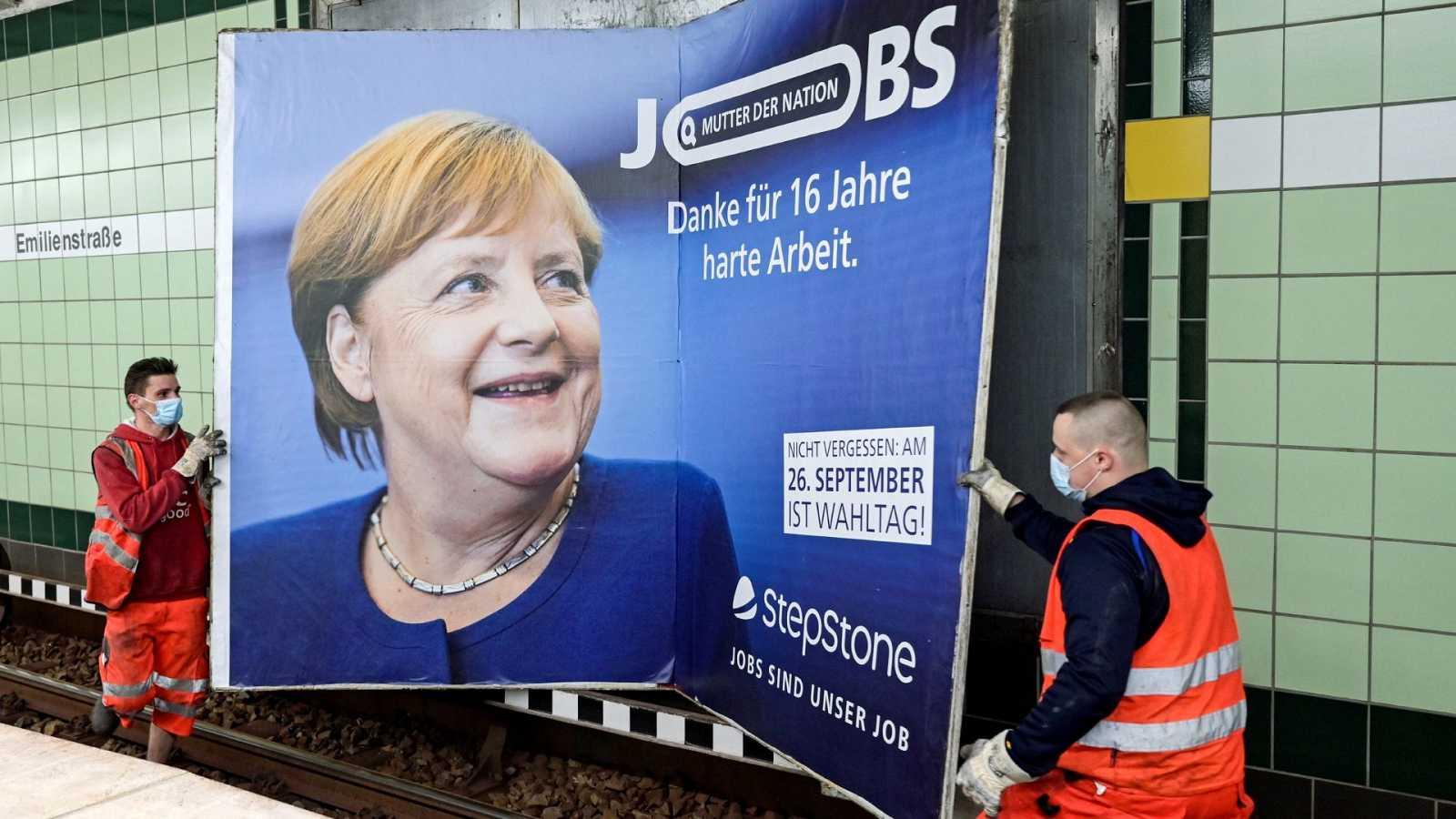 ¿Estabilidad o cambio?: los alemanes valoran los 16 años de Merkel como canciller