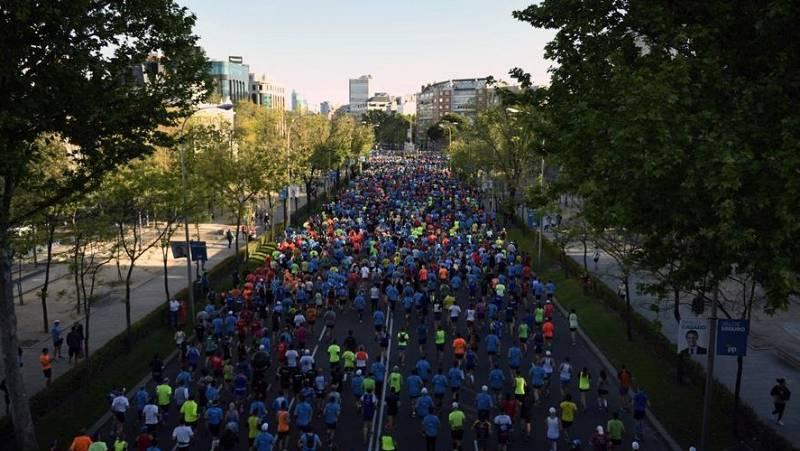 El maratón de Madrid reúne a 30.000 participantes