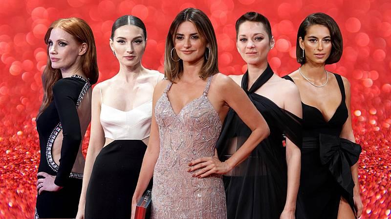 Glamour y celebrities en la alfombra roja del Festival de San Sebastián