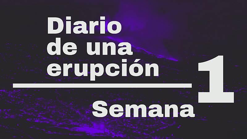 Diario de una erupción. Semana 1