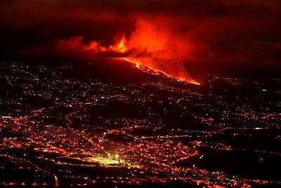 """""""Cuando la lava llegue al mar habrá un choque térmico"""""""