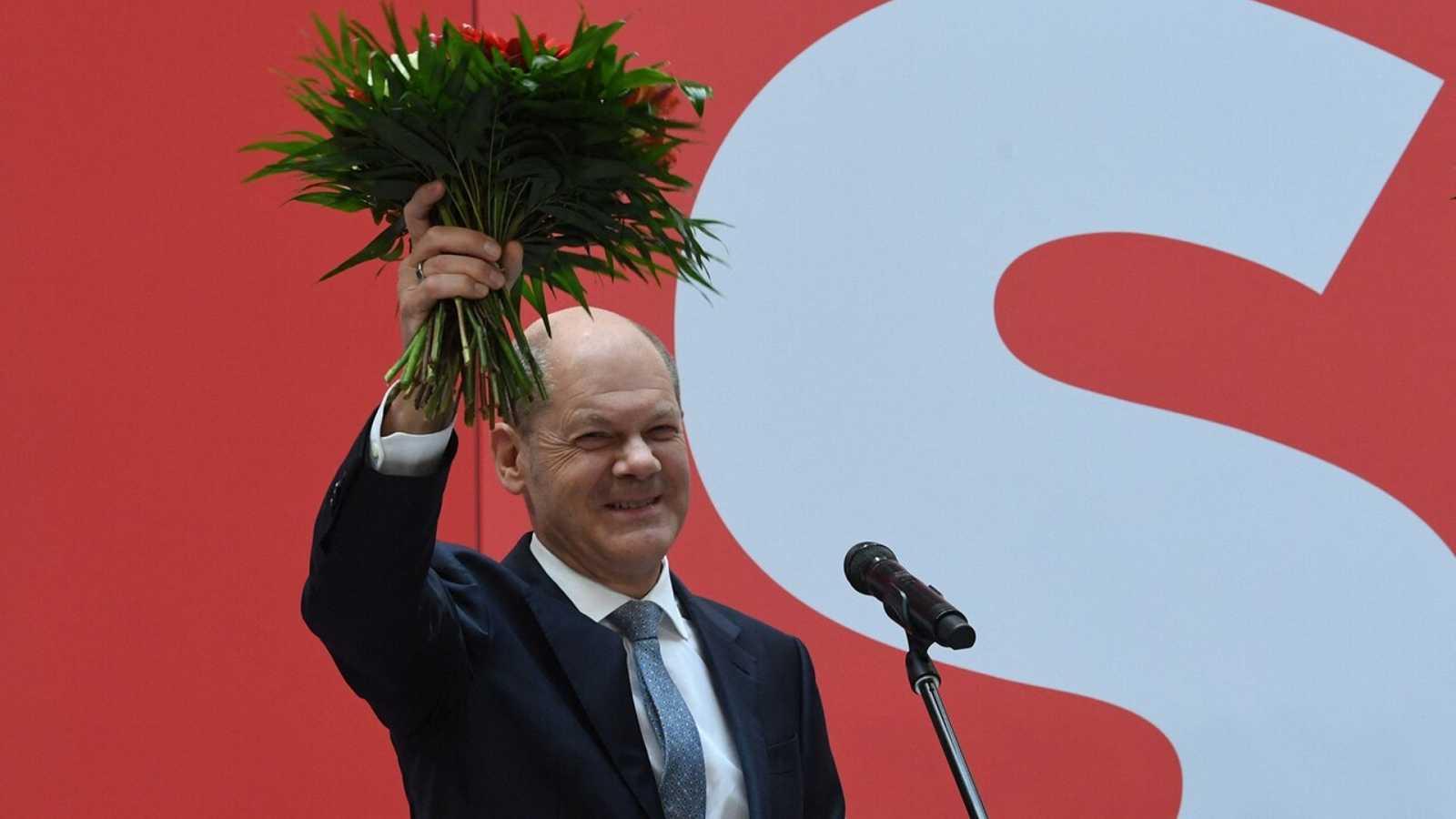 El SPD gana por la mínima las elecciones en Alemania - Ver ahora