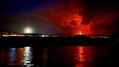Los efectos de la erupción volcánica de La Palma en el fondo marino